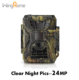 24MP/1080P Night Vision IP66 hideden deer hunting trail camera