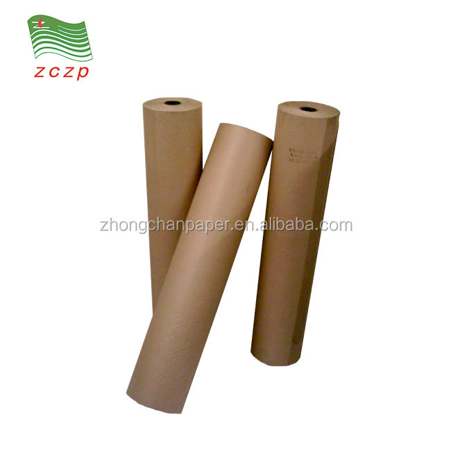 FDA PE coated brown kraft paper rolls for food bag making