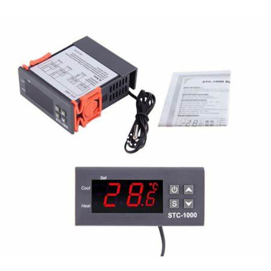 Hohe temperatur Elektronische Digitale thermostat DisplayTemperature Controller thermometer Thermoelement wasser fitting Homebrew