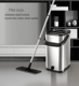 new design magic flat floor cleaner mop with stainless steel squeeze bucket
