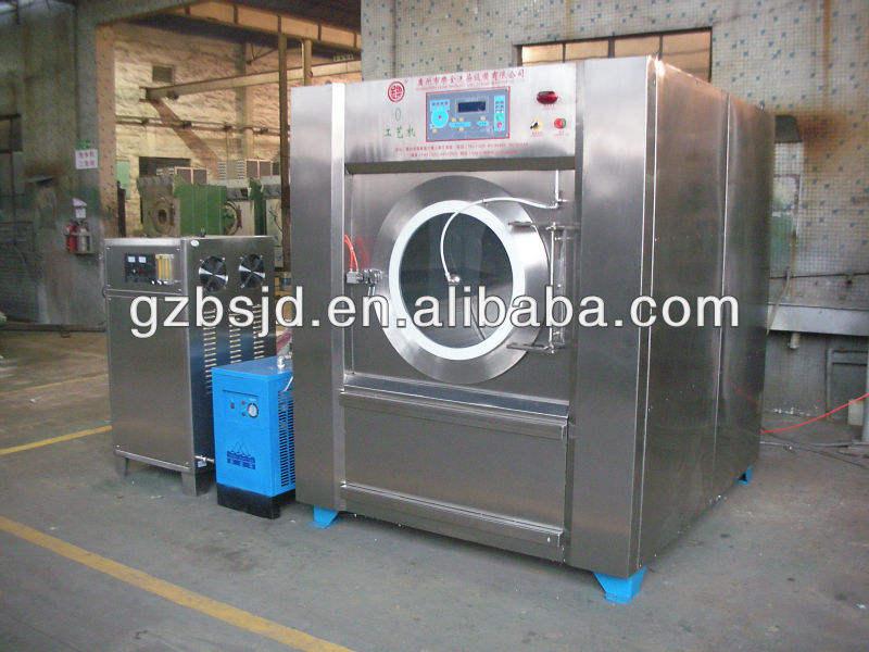 el procesamiento de dril de algodón de la máquina de ozono de <span class=keywords><strong>lavandería</strong></span> comercial de la máquina