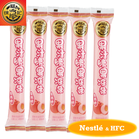 HFC 4773 stick shape jelly/ pudding with peach flavour