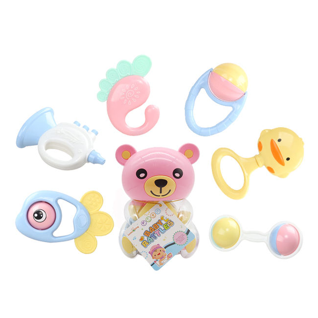 Best gifts preschool educational toys baby wrist rattle for sale HC411397