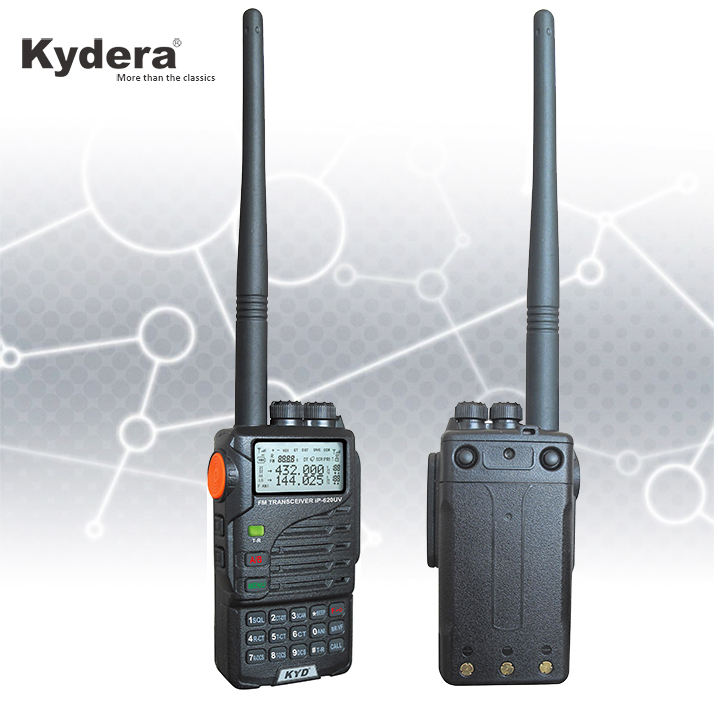 Portable Dual Band Tahan Air Profesional Radio IP-620UV Walkie Talkie IP67
