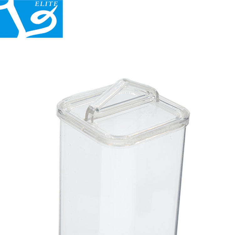 High Level Transparent High Quality Clear Plastic Material Packing Square PVC Pipe