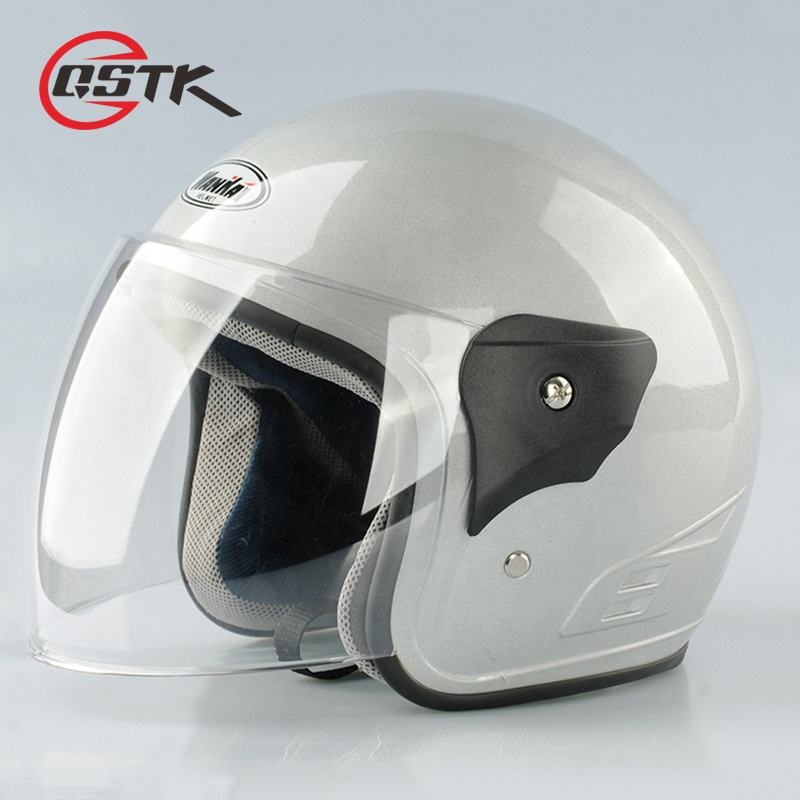 hehui cheap open face scooter helmets half face motorcycle helmet