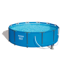 Bestway 56260 Steel pro frame above ground swimming metral round pool