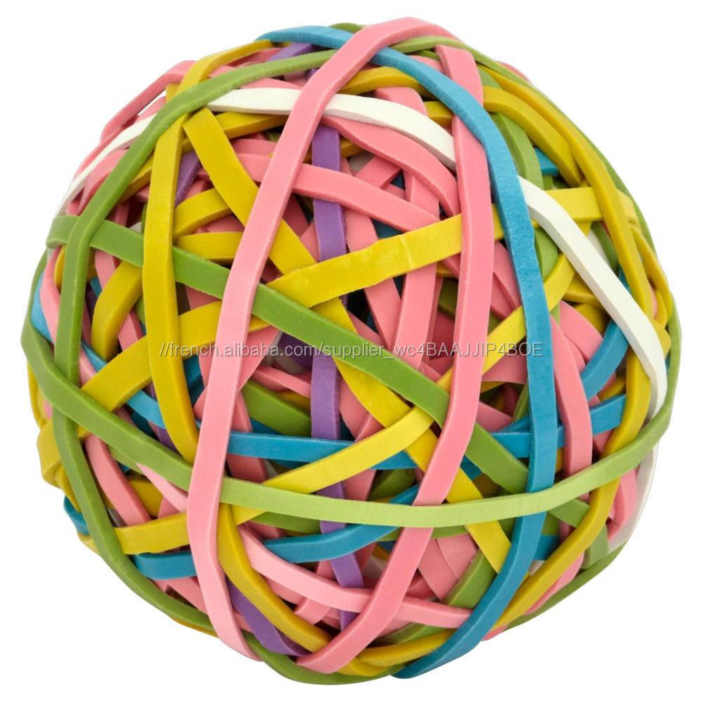 Vente en gros doux personnalisés Silicone Rubber Band Ball, Cheap Rubber Band Ball