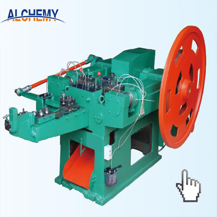 Good price wire drawing nail polishing making machine price