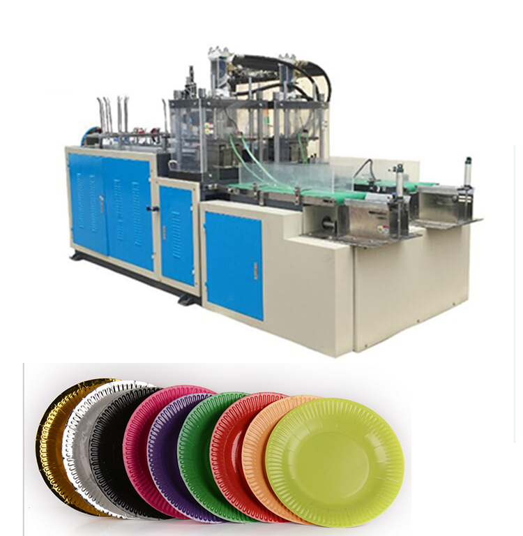 China supplier automatic disposable rectangular paper plate making machine