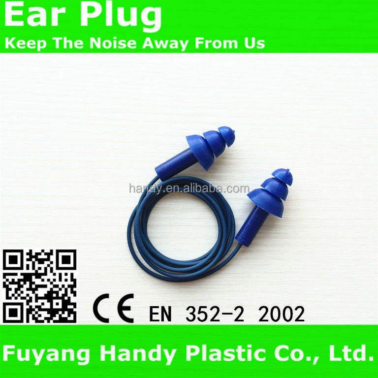 metal detection silica gel earplug