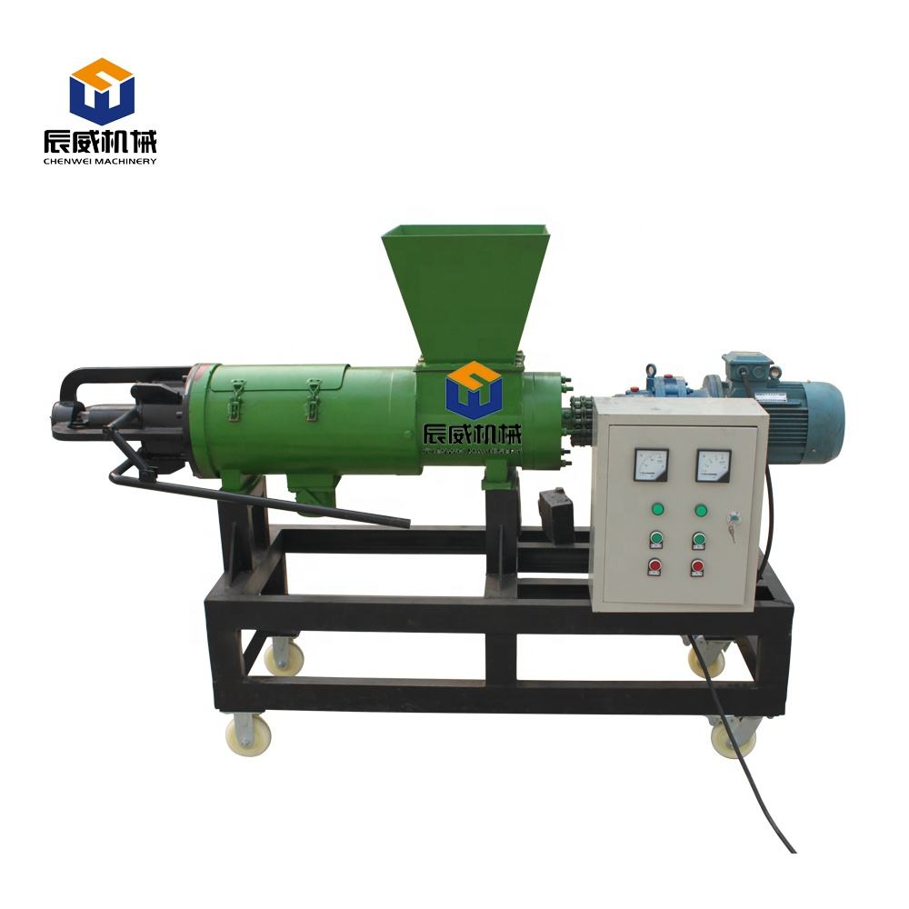 Animal droppings dung Solid-liquid separator farm agricultural equipment