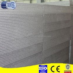 Graphite and Polystyrene insulation board Nonmetal EPS Panel