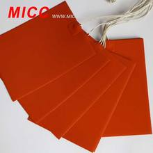 MICC Electric Industrial Heating Blankets/Pads/Plates Silicone Rubber Heater