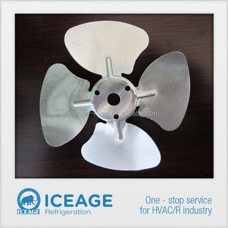 Aluminum Fan Blade used in motor/axial fans