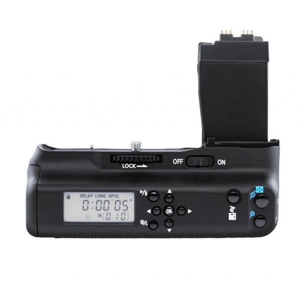 MK-550DL LCD Timer Battery <span class=keywords><strong>Grip</strong></span> Holder Per 550D 600D 650D 700D/Rebel T2i T3i T4i T5i