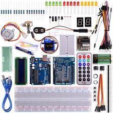 UNO R3 Project Super Starter Kit with Tutorials for Nano Micro Mega Wifi gsm with Screen Servo Motor Sensors K11