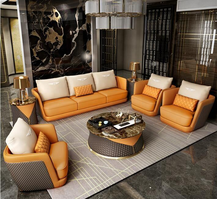 Hot sale modern 7 seat sofa set sectional sofa for home use Bentley sofa
