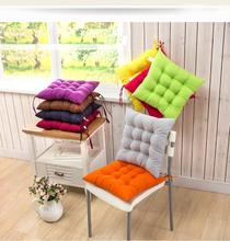 wholesale 100% polyester folding chinese dining chair seat pad cushion