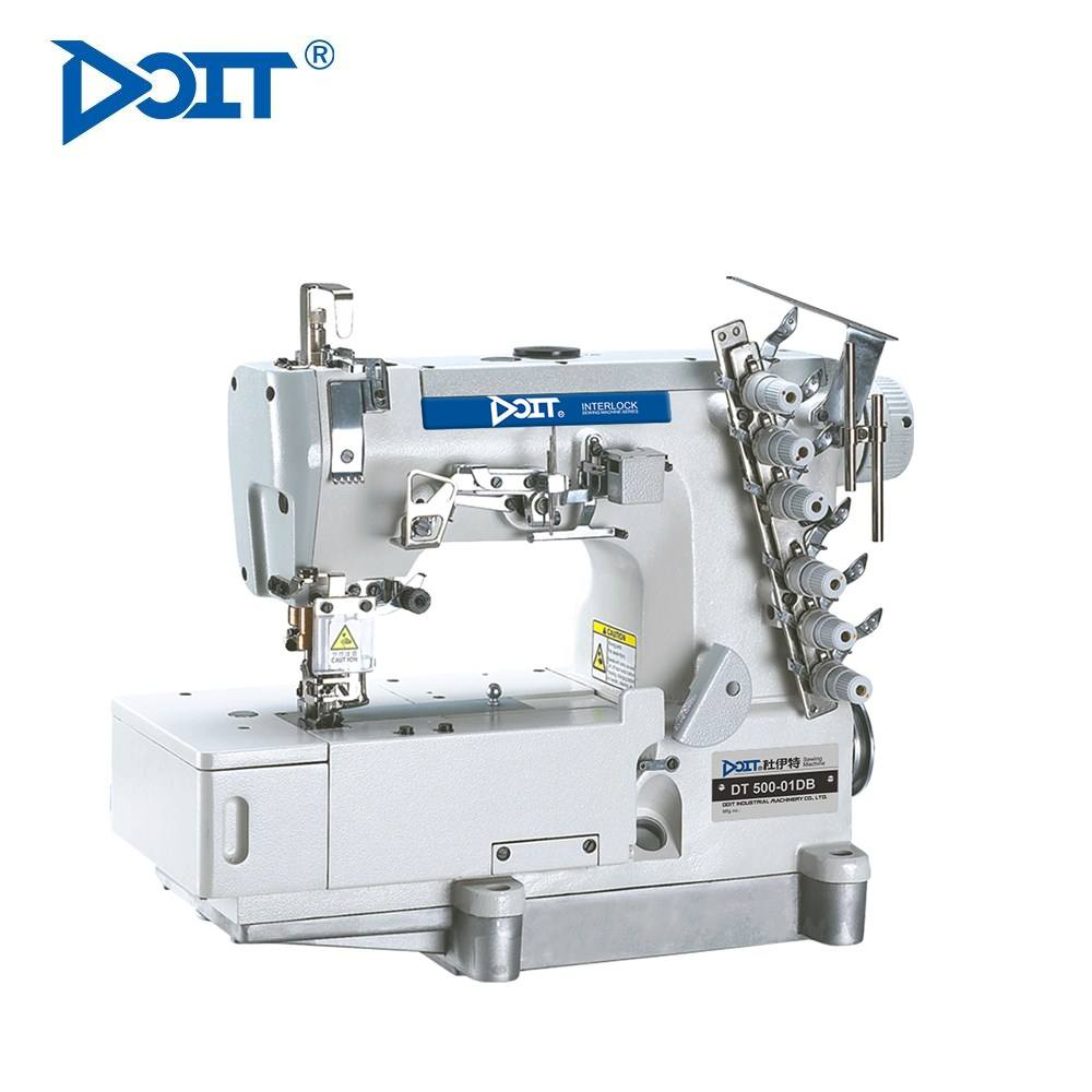 DT 500-01DB 4 needle 6 thread high speed interlock industrial sewing machine price
