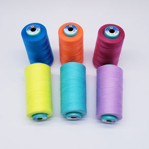 100% poly poly core spun polyester sewing thread 40s/2