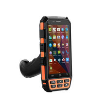 Top Quality 4G Android 7.0 OS rugged PDA data terminal mobile portable 2d qr code scanner