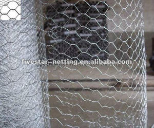 Electro Galvanized/hot dipped galvanized Hexagonal Wire Mesh factory