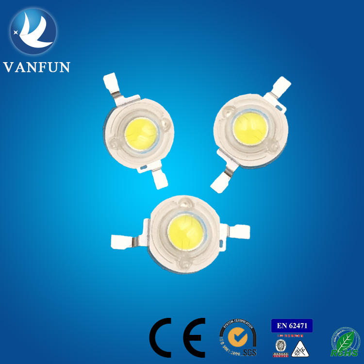 China leverancier 1 w 3 w high power leds wit/warm wit 45mil epistar led chip voor automotive led lichten