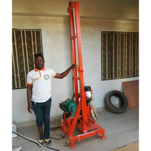Most popular !!! Portable water well drilling rig / Mini well drilling machine