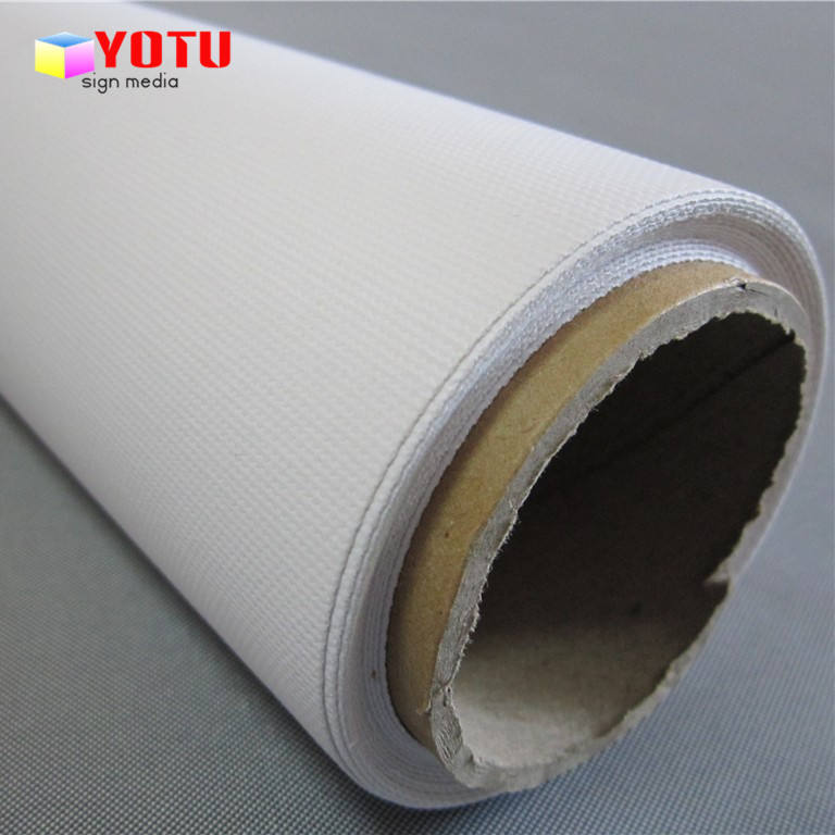 Eco solvent polyester cotton blended art fabric canvas