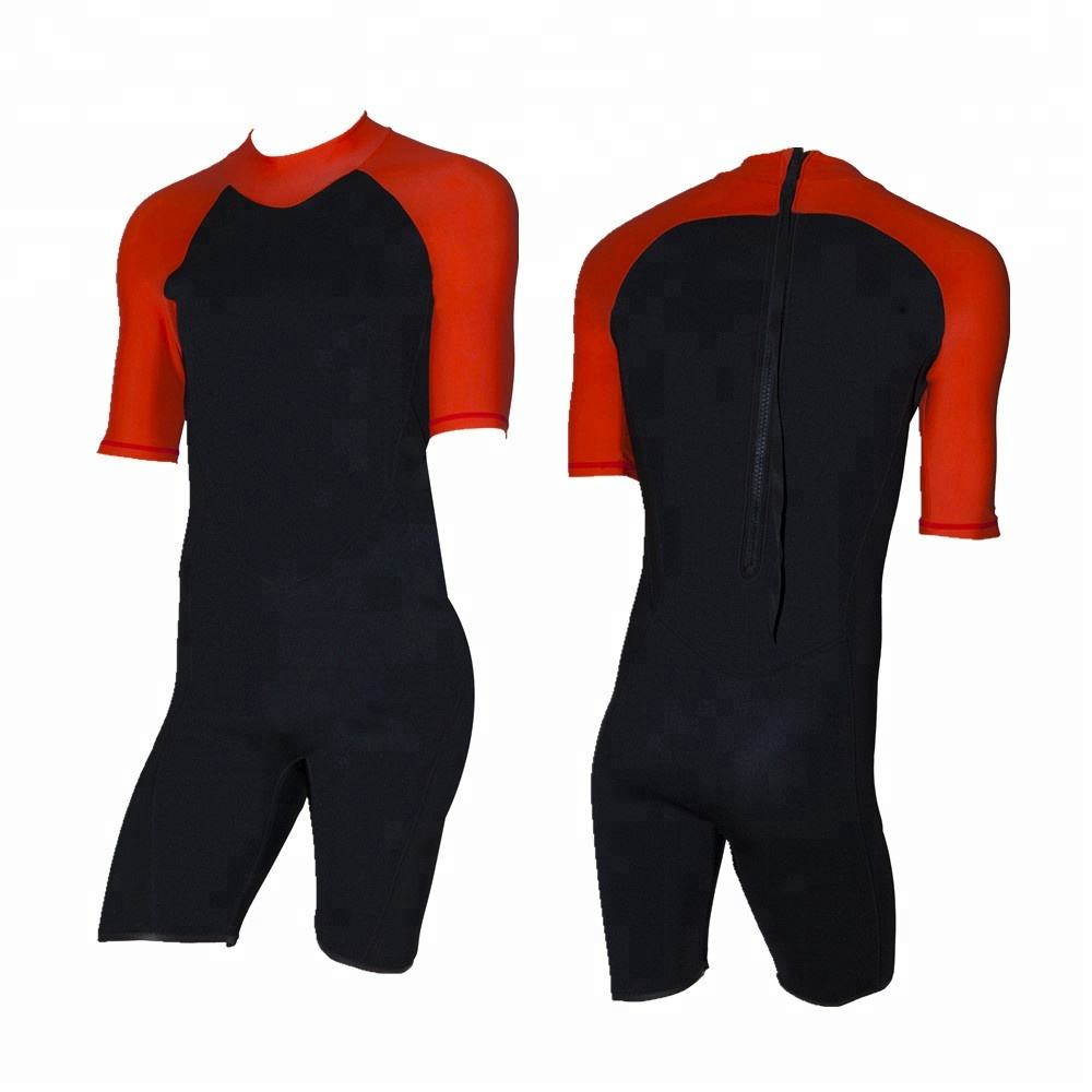 Watersports Men's Shorty Wetsuit for Swimming, Surfing, and Diving