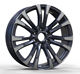 NEW design fashionable 22 inch black alloy wheel rims for sale (ZW-D7001)