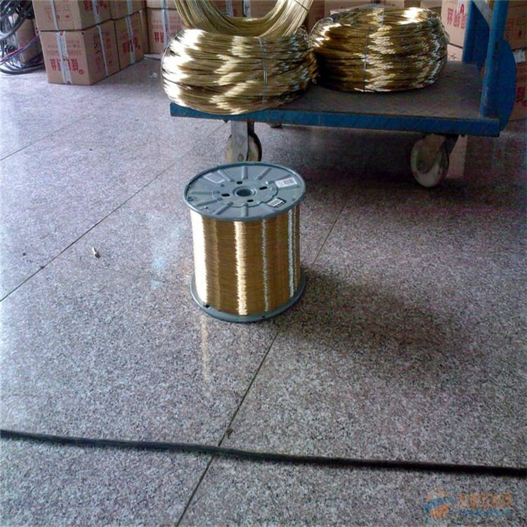 China Factory Coil EDM Brass Alloy Wire Price