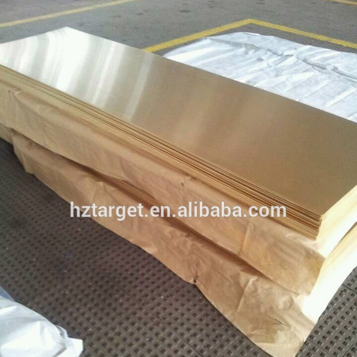 High Quality Brass Sheet CuZn15