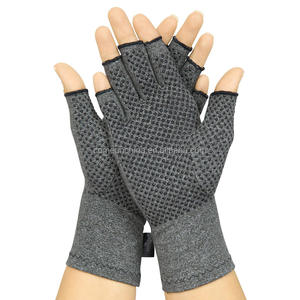 Arthritis Gloves with GripsTextured Fingerless Compression Anti arthritis Gloves