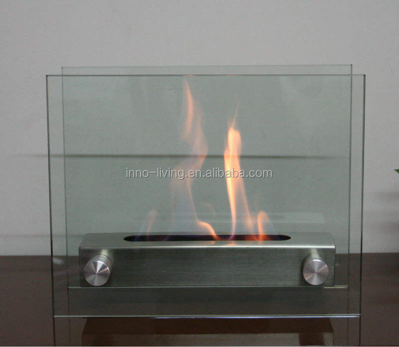New style Rectangle ethanol tabletop firepit ethanol