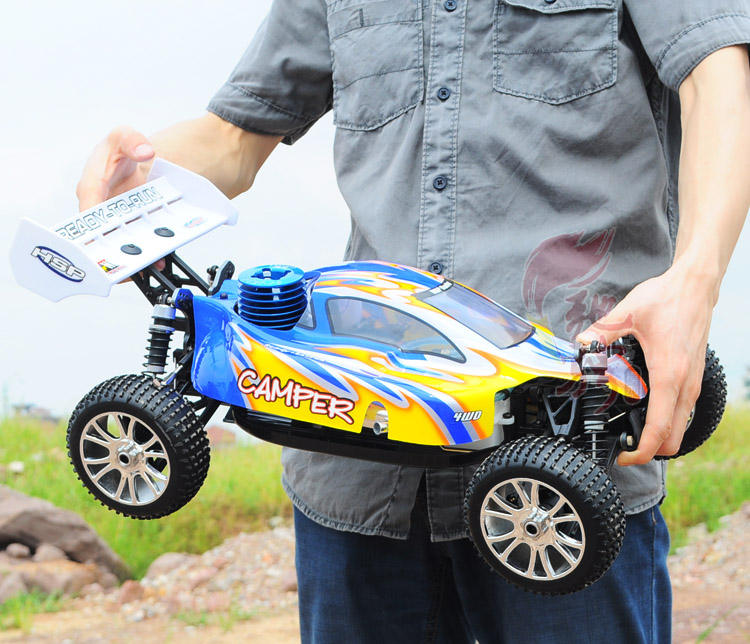 1/8th Nitro Remote Control Cyclone RC Mobil Di Cina