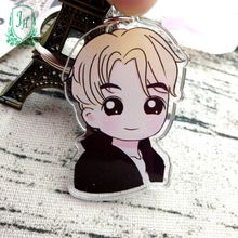 cheap custom transparent acrylic charm