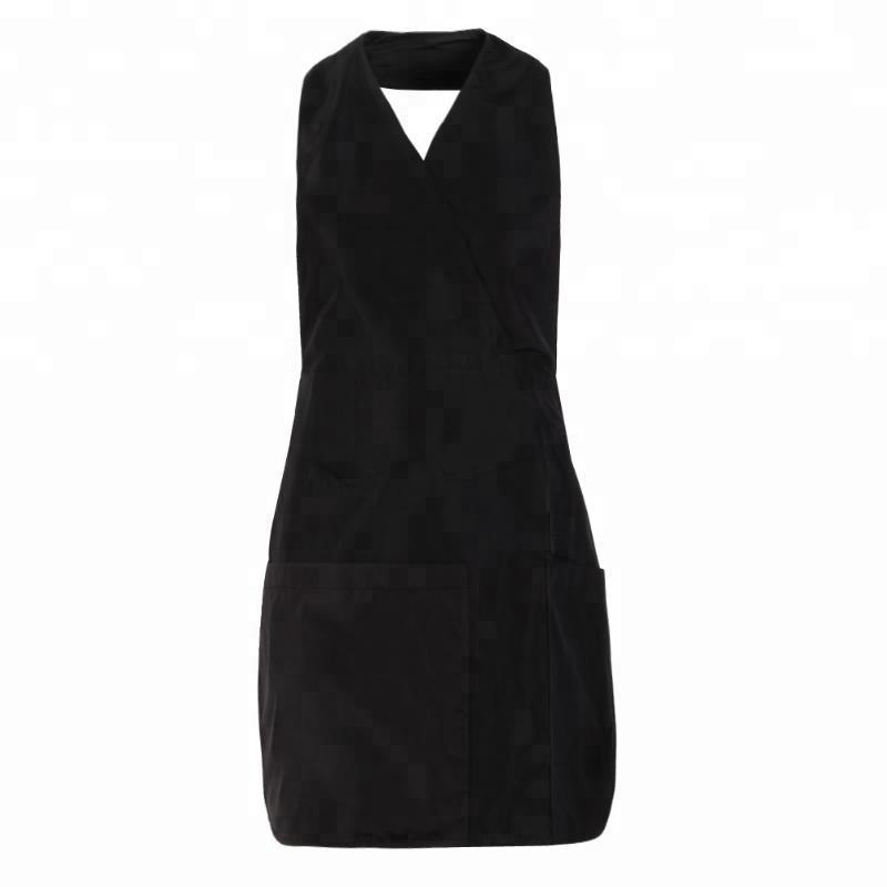 Pro 3/4pockets Salon Hairdresser Work Apron Capes Hairdressing Gown Wraps Barber Hair Cutting Clothes Styling Tools