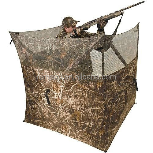 Three Sides Blind camouflage hunting tent foldable comuflage hay hunting blind