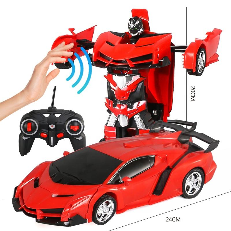 2019 New Product Remote Control Toys 1/18 Gesture Induction Changeable Toy Radio Control Car