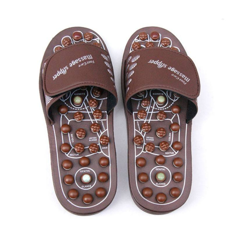 Hotsale Spring Magnet Rotatable Kneading Foot Care Massage Sandals