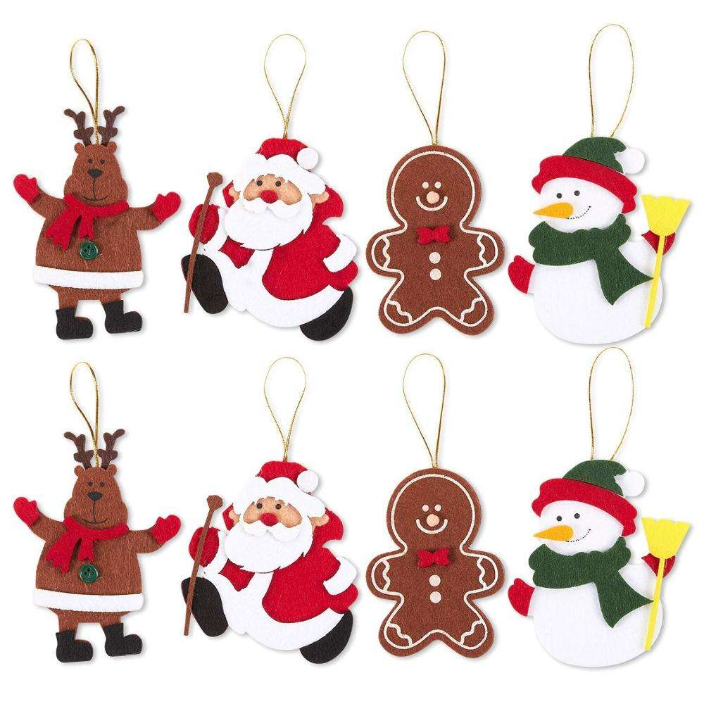 handmade pure wool felt craft christmas decoration
