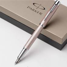 Gold color parker fountain pen