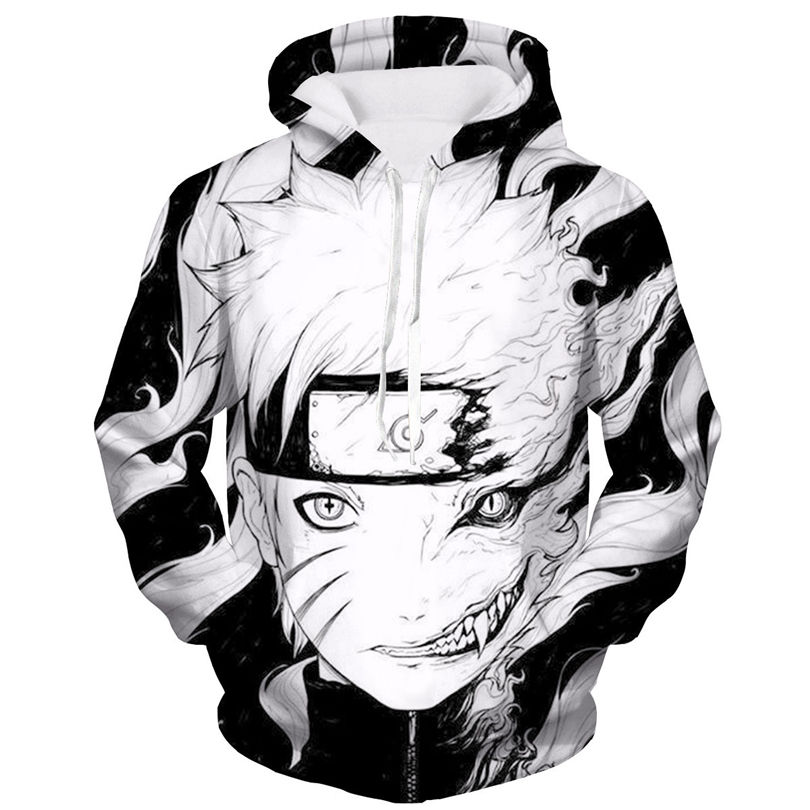 Naruto fashion 3D printing hoodie cosplay Halloween Christmas Carnival party costume