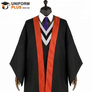 Wholesale cheap disposable graduation robe
