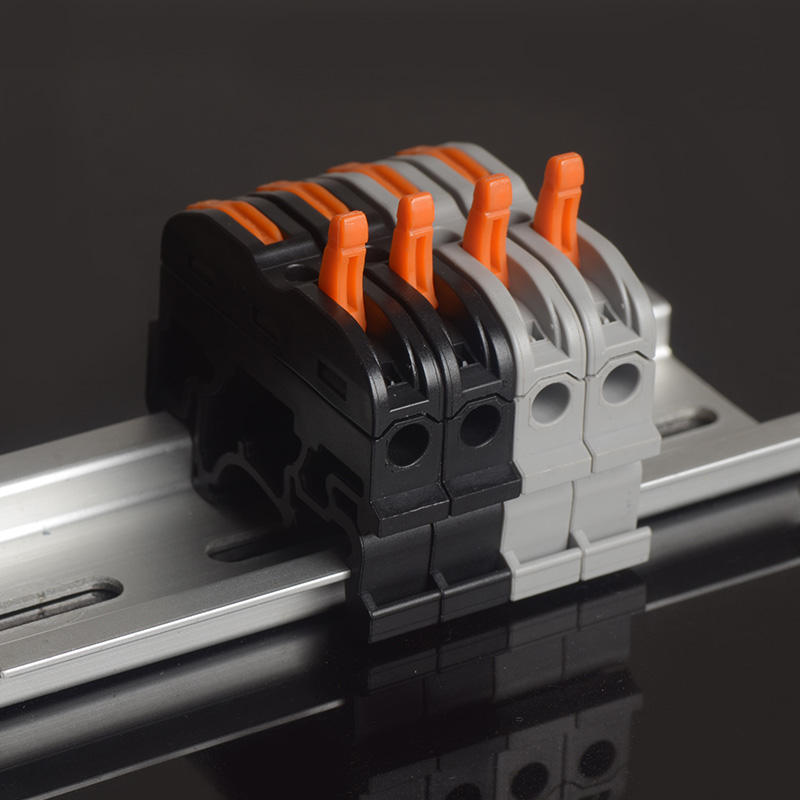 SPL-1 PCT-211 Rail Type Wire Connector Quick Connection Terminal Press Type Connector Instead Of UK2.5B Terminal Block