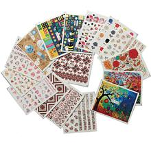 Japanese Style Nail Art Stickers Accessories Watermark Decals DIY Beauty Nail Supplies