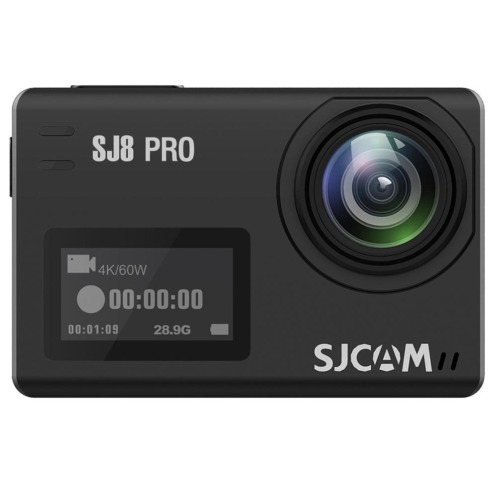 SJ8 PRO Action Camera 4K/60FPS WiFi Sports Cam 2.3 Inch Touch Screen Wide Angle EIS 8X Digital Zoom Waterproof Camera