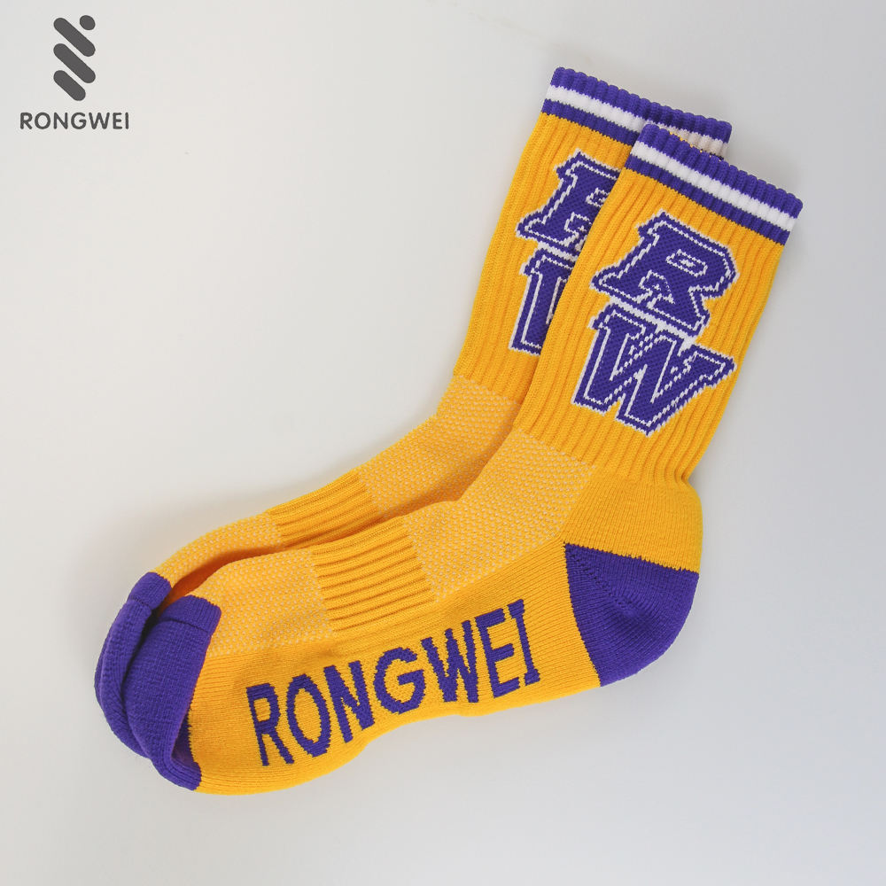 Custom Free Design Breathable Basketball Team Towel Sports Socks